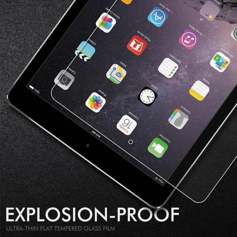 En Verre trempé Pour Apple iPad 9.7 pouce 2018 2017 Por 10.5 En Verre Pour iPad Air 2 1 Mini 1 2 3 4 écran Protecteur De Protection Film