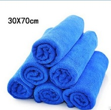 70X30CM Super Absorption Microfiber Car Care Towel Car Wash Towel Cleaning care product hot selling Car Styling free shipping
