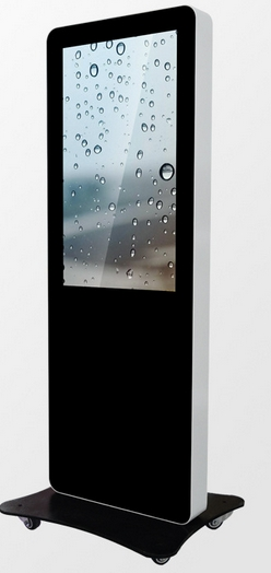 High Brightness Lcd Digital Signage 55 Inch Touch Screen Kiosk Outdoor Lcd Advertising
