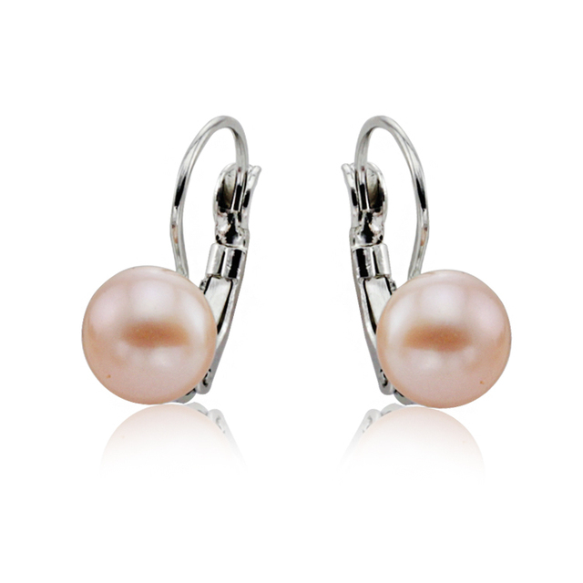 Genuine Natural Freshwater Pearl Earrings
