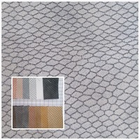 NEW Grind Arenaceous Water Wave Style Toughness Faux Leather Fabric PU Synthetic Leather 19 Color Textile