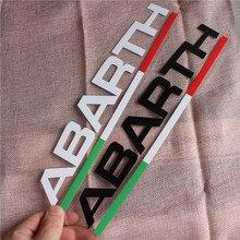 1 шт., 28x5 см, наклейки на окна автомобиля, боковые спортивные наклейки, авто стиль для Abarth fiat 500 grande punto bravo doblo panda ducato