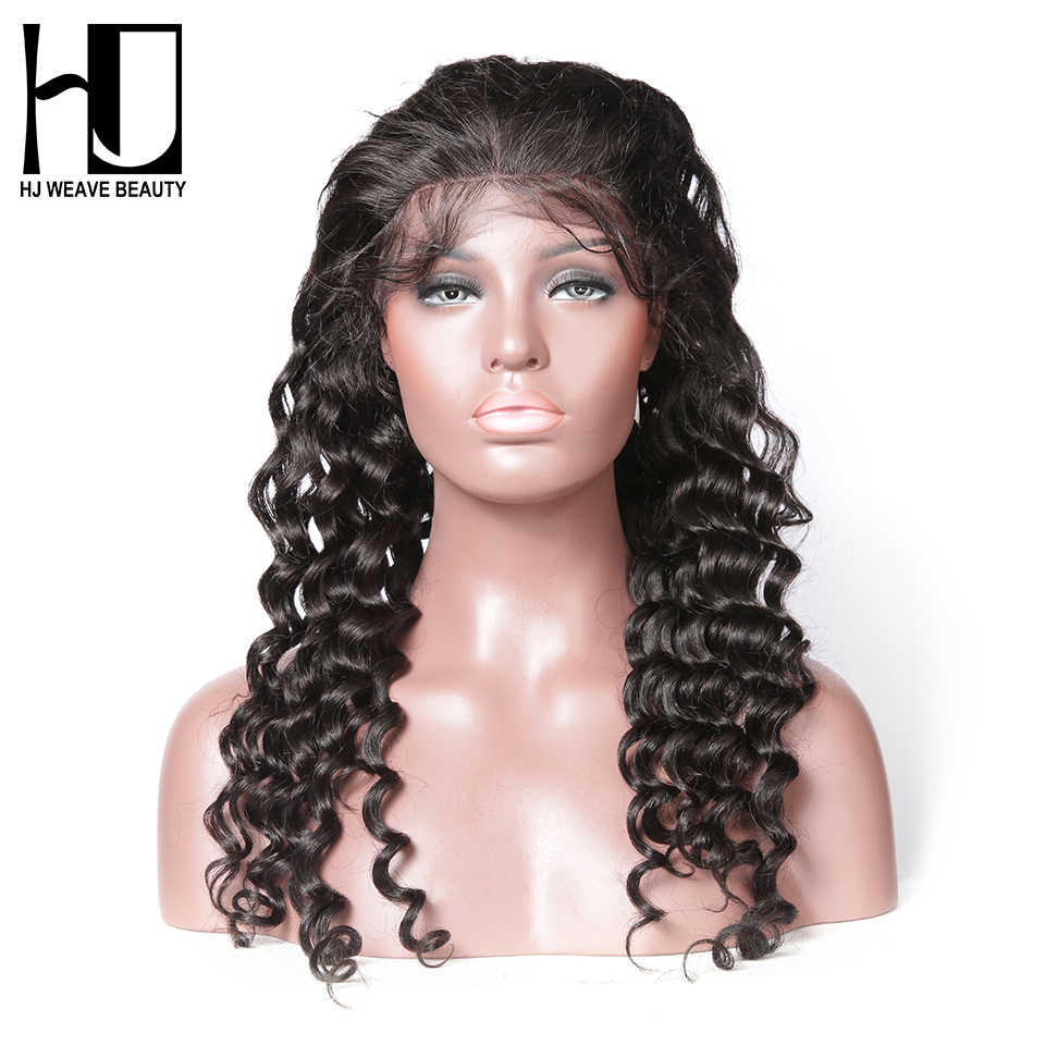 [HJ WEAVE BEAUTY] Human Hair Wigs Lace Front Wig Natural ...