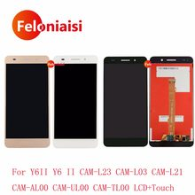 20Pcs/lot DHL For Huawei Honor 5A Y6II CAM-L23 CAM-L03 CAM-L21 Lcd Display With Touch Screen Digitizer Assembly Complete+Frame(China)
