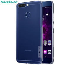 nillkin Skin Rubber honor v9 Cover For huawei honor 8 pro transparent phone case