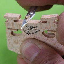 3(30 шт.) скрипка сделать инструменты дерево проект скрипки мост нож резак легко использовать