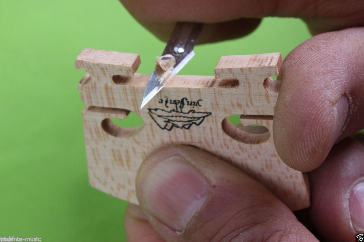 3 (30pcs) Violin Make Tools Wood Project Violin Bridge Knife Cutter Easy Use