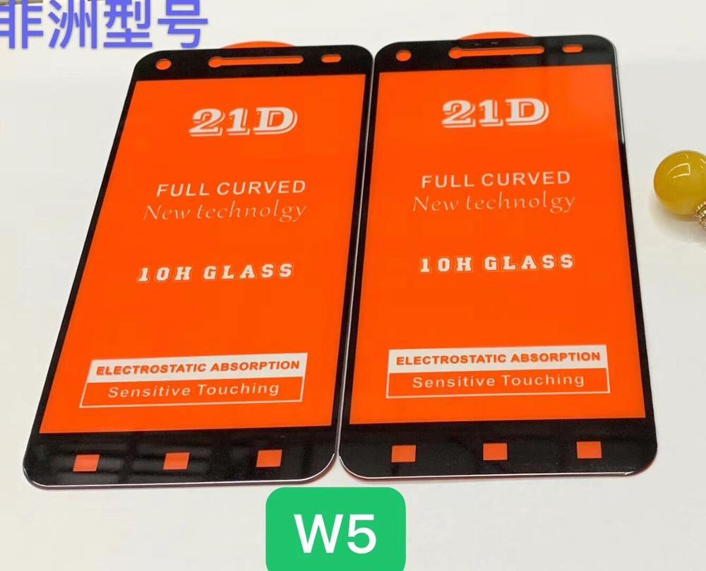 2PCS 21D Pieno di Colla di Vetro Temperato Per LG W5 9H Completa Copertura Dello Schermo a prova di Esplosione Della Protezione Dello Schermo pellicola Per LG W5