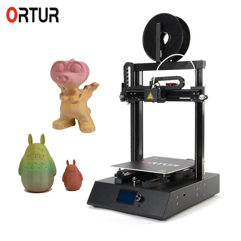 Haute qualité Ortur usine 3D imprimante Kit marché moins cher Mini FDM impression 100 MM/S-150MM/S 3 D imprimante Machine Impresora 3D