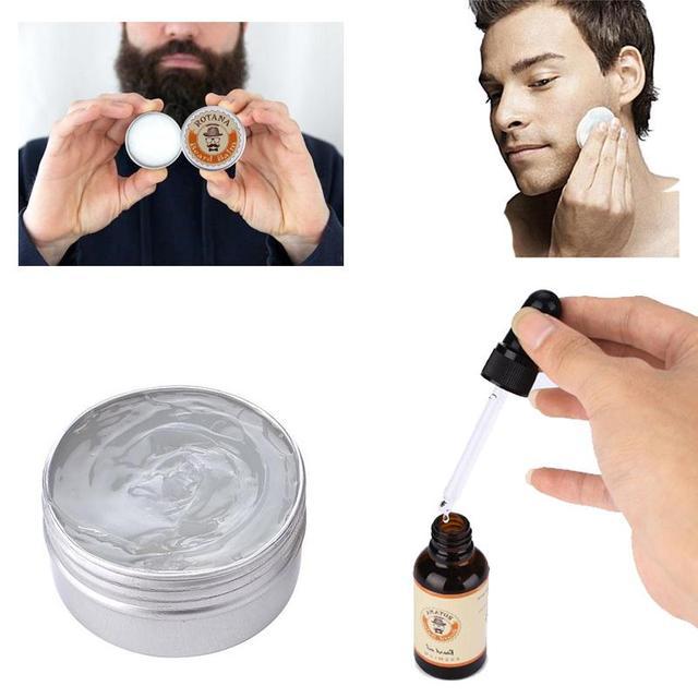 msmask Men Shaving Soap Mustache Cream Skin Conditioner Facial Care Product Natural 30ml Shaving Beard Soap Drop shipping 1