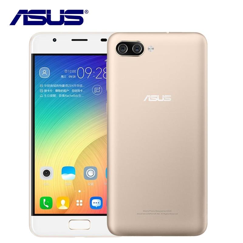ASUS ZenFone Pegasus 4A ZB500TL 32 GB ROM 3 GB RAM Quad Core 13MP Android 7.0 4100 mAh 5 pouce 4G LTE D'empreintes Digitales OTG Mobile téléphone