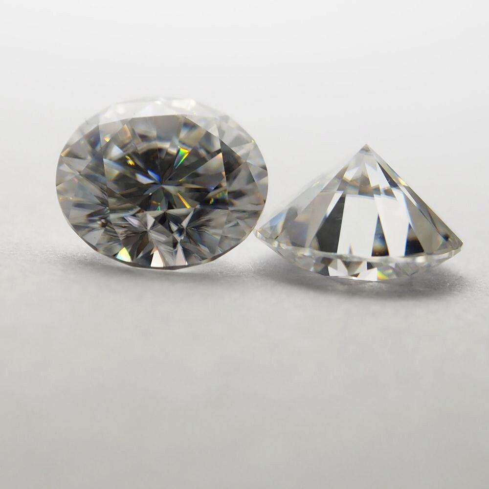 1 Carat/tasche Gh Farbe 2,10 Mm Moissanite Stein Brillanten Moissanite Preis Hohe QualitäT Und Geringer Aufwand