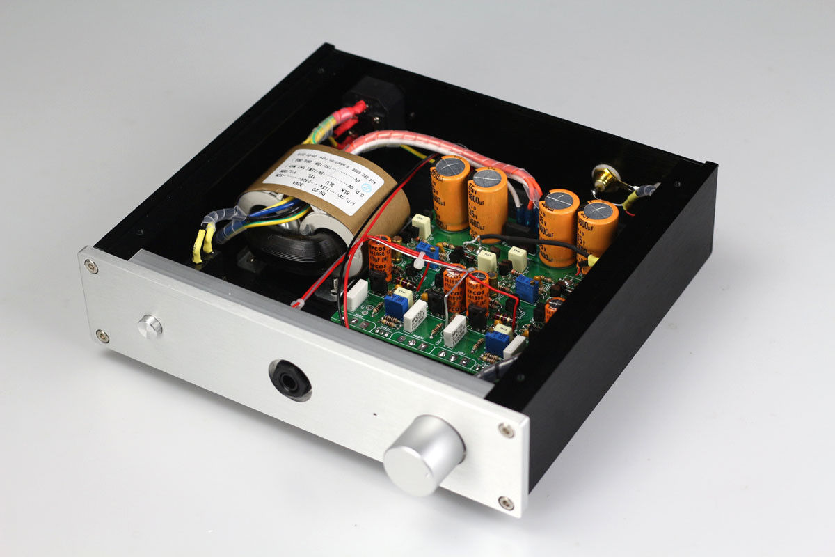 ZEROZONE Finished HV2-Se Pure class A Headphone amplifier base on HA5000 amp line L7-30