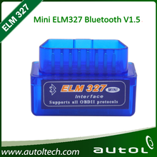 Blue V1 5 Super Mini Bluetooth ELM327 OBD2 Car Auto font b Diagnostic b font Scan