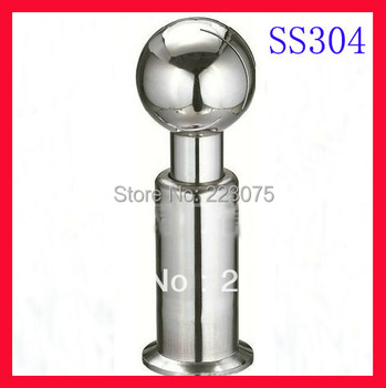 """Free shipping 2.5"""" SS304 stainless steel cleaning ball, Spray cleaning ball, Rotary cleaning ball, Rotary cleaner"""