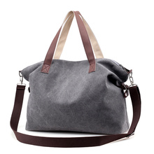 Fashion Brand Woman Canvas Bags Women Casual Tote Shoulder Bag Famous Female Messenger Ladies Crossbody Bolsa Feminina