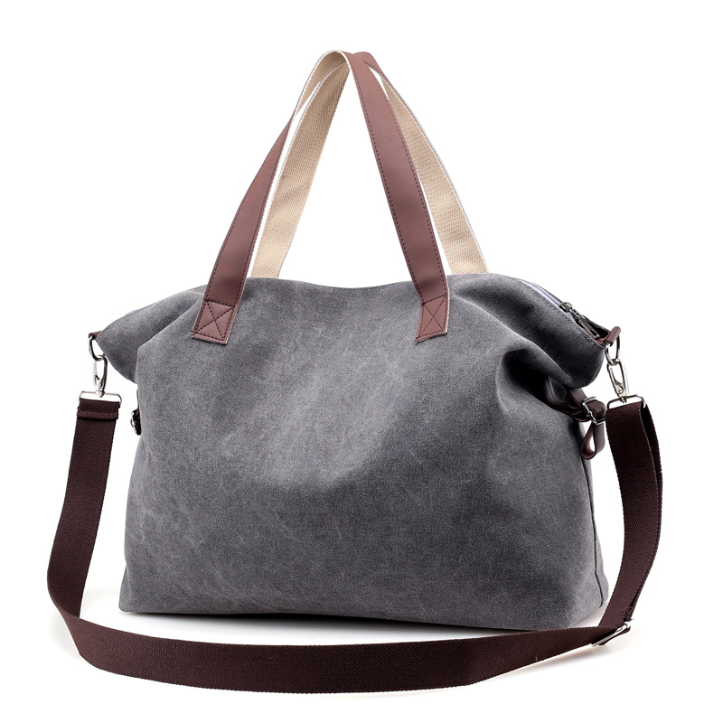 Fashion Brand Woman Canvas Bags Women Casual Tote Shoulder Bag Famous Female Messenger Bags