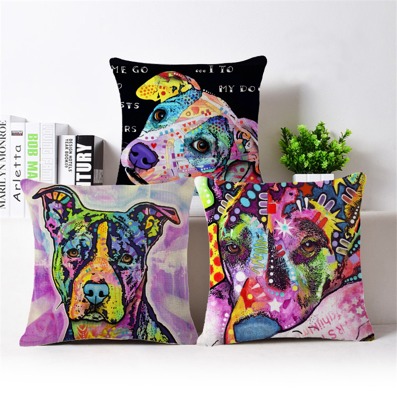 2015 New Dog Cushion Covers Cheap Decorative Pillows For