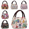 2015 new women handbags women bags waterproof printed lunch box lunch bag for kids picnic bag
