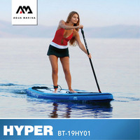 AQUA MARINA HYPER SUP Surfing Board Stand UP Surfing Board Paddleboard Inflatable Surf Paddle Board 350*79*15CM SUP Board