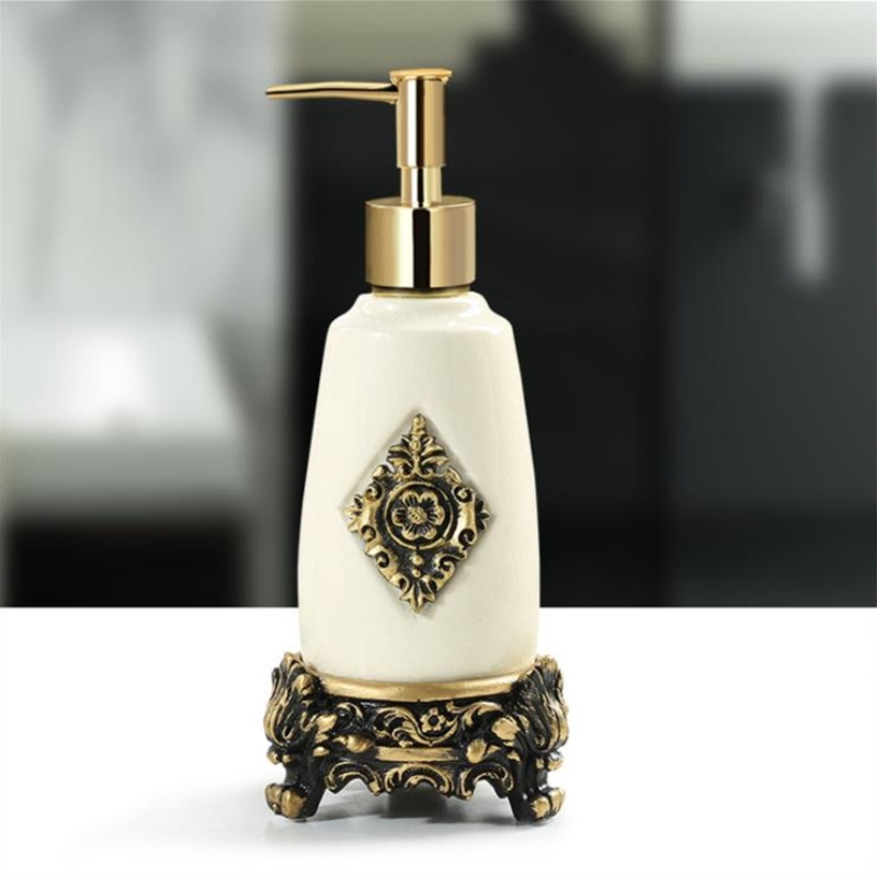 1PC Ceramic Liquid Soap Dispenser Fashionable Soap Dispenser Shower Soap Bottle For Bathroom Washroom Kitchen