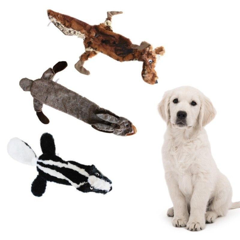 Милые Игрушки для собак Мягкие скрип Животные любимая игрушка плюшевый питомец сигналят белки для маленьких Товары для собак, Squeaker скрипуч...