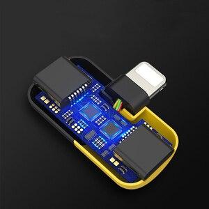 Image 4 - Mignon capsule multi fonction adaptateur musique + charge 2 en 1 Type C 3.5mm foudre double foudre pour iPhone7/8/x Android