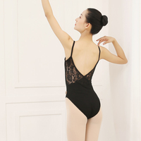 Ballet Leotards Women Lady Ballet Tights Gymnastics Leotard Adult Lace Dance Bodysuit Costumes Ballerina Performance Wear DN1833