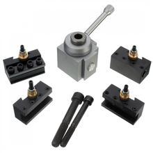 1set Mini Quick Change Tool Post Holder Kit Set for Table / Hobby Lathes