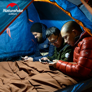 Image 3 - Naturehike Portable Outdoor LED Camping Light Magnetic Tent Lamp Hanging Tent Emergency Led Lights Two Colors