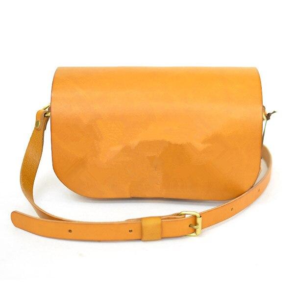 ee570b9dc Bolsa de cuero hecha a mano de DIY estilo cuero curtido vegetal patrón  dibujo versión llevar paquetes [B-5047]