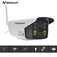 Vstarcam C18S 1080P Waterproof Outdoor Wifi Camera CCTV Full Color Night Vision Security Camera Infrared Bulllet Camera