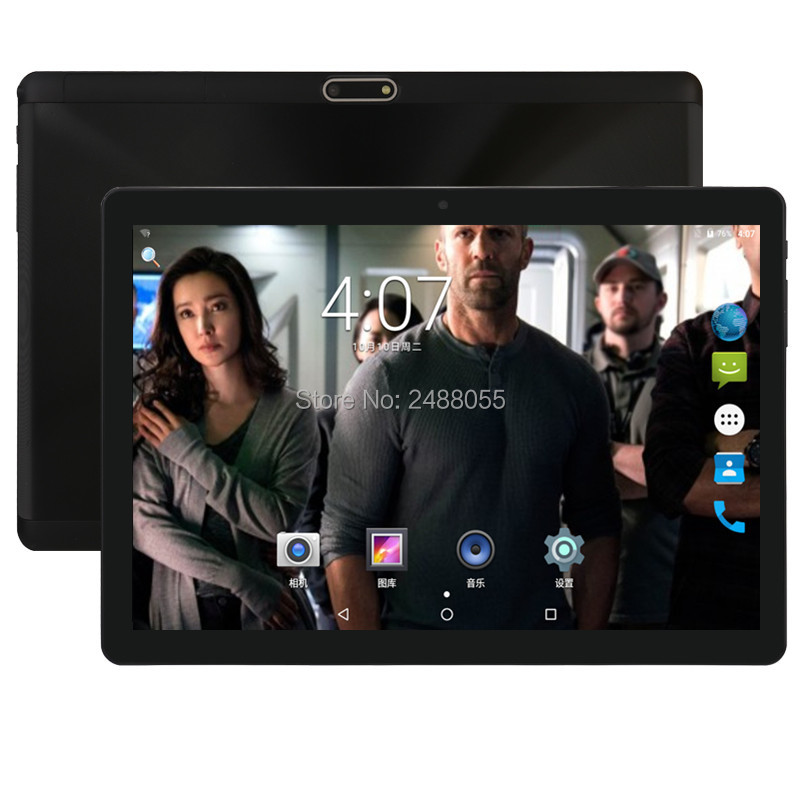 все цены на Best tablets 2.5D Glass 10 inch tablet Android 7.0 Octa Core 4GB RAM 32GB ROM 8 Cores 1280x800 IPS Screen Tablets 10.1 + Gift онлайн
