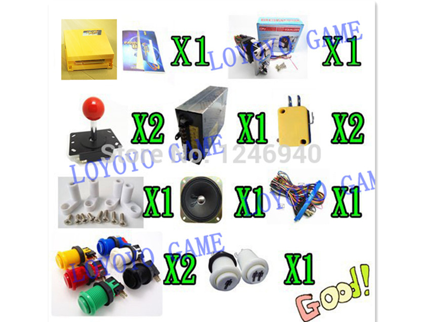 1 kit New amusement multi video games 645 in 1 PCB game board kits Just Another Pandora Box 4 CGA & VGA Arcade Game Cabinet new arrival 520 in 1 multi game board the new upgraded version just another pandora s box 3 cga