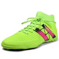 Indoor futsal soccer boots sneakers men Cheap soccer cleats superfly original sock football shoes with ankle boots high hall