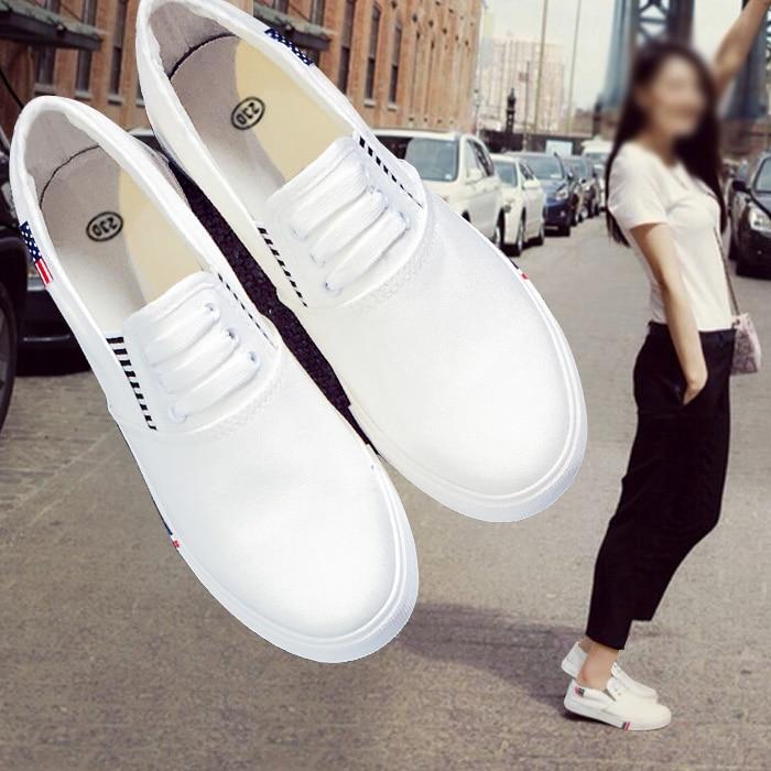 2017 Nueva Primavera/Otoño Mujeres de la Marca Zapatos Ocasionales Respirables c