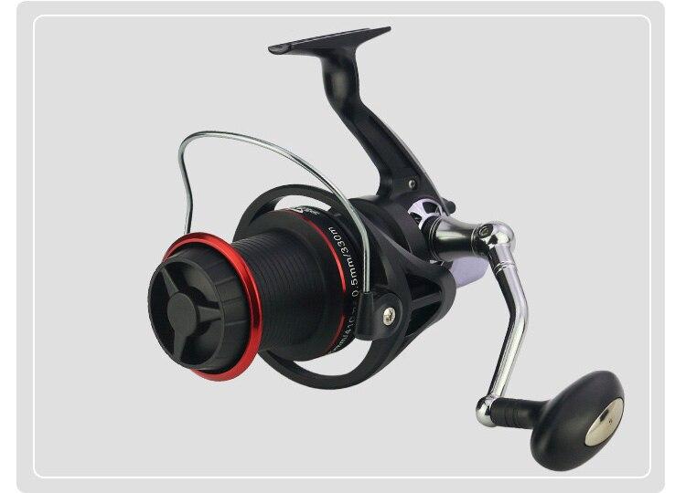 + 1 olta roda distante carpa carretel pesca fiação