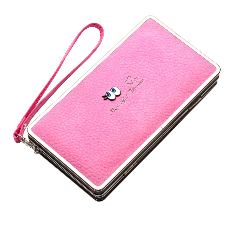 New Women Wallet Phone Bag Leather Case For iPhone 7 6 6s Plus 5s 5 Samsung Galaxy S7  Girls Cute Cell Phone Bags Purse Wallet new arrival vintage pattern multi purpose beanie
