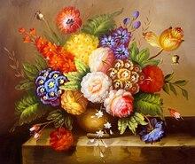 5D DIY Diamond Painting Flowers Vase Full Square  Embroidery Sale Mosaic Rhinestones for Needlework