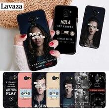 Lavaza 13 Reasons Why New Design Silicone Case for Samsung A3 A5 2016 2017 A6 Plus 2018 A7 A8 A9 A10 A30 A40 A50 A70 J6