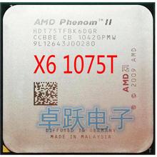 Процессор AMD Phenmon X6 1075T X6-1075T 3,0 GHz с шестиядерным процессором, разъем AM3