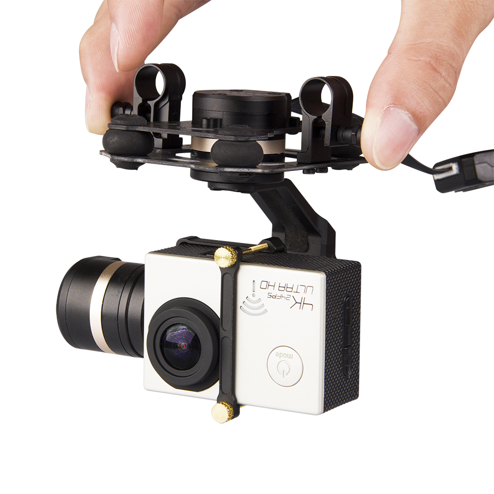 Tarot 3D III F17391 Update from T4-3D 3D III Metal 3-Axle Brushless Gimbal for GOPRO GOPRO4/GOpro3+/Gopro3 FPV Photography tarot tl3t01 update from t4 3d 3d metal 3 axis brushless gimbal for gopro 4 3 for gopro3 fpv photography f17391