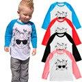 T-shirt for Boys Cartoon Rabbit T-shirt Baby Girl Big Sister T Shirt Kids Clothes Fashion Long Sleeve Tee Tops Children Clothing