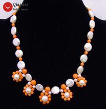 Женское Ожерелье чокер из натурального жемчуга 12 13 мм