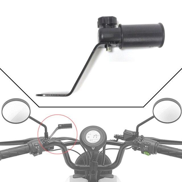 Универсальный мотоцикл зеркало заднего вида зажим держатель 10 мм gps телефон кронштейн для KTM Suzuki Harley Скутер мопед ATV