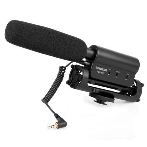 Takstar SGC-598 צילום ראיון בכנס כנס - אודיו ווידאו נייד