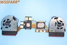 Бесплатная доставка оригинальный вентилятор радиатора для ноутбука HP OMEN 15 15-5113TX 5114TX 5014TX 501T6TX Вентилятор охлаждения 788600-001
