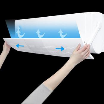 Chowany klimatyzator osłona przeciwwiatrowa Anti Direct Blowing chłodne pozbawiające tchu płyta montażowa szyby przedniej tanie i dobre opinie CN (pochodzenie) PRINTED Nowoczesne HG15248A1 58*18cm (folded) 108*18cm (stretched) air conditioning wind shield conditioning baffle shield