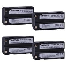 4Pcs 7.4V 2600mAh Battery akku 54344 for Trimble 54344, 29518, 46607, 52030, 38403, R8, 5700, 5800, R6, R7, R8, Pentax D-LI1 trimble 32960 cable connect r8 5700 to tsc2 and tsce controller
