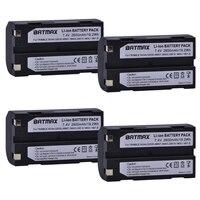 4Pcs 7.4V 2600mAh Battery akku 54344 for Trimble 54344, 29518, 46607, 52030, 38403, R8, 5700, 5800, R6, R7, R8, Pentax D LI1